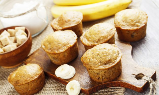 Healthy banana muffins recipe you can try